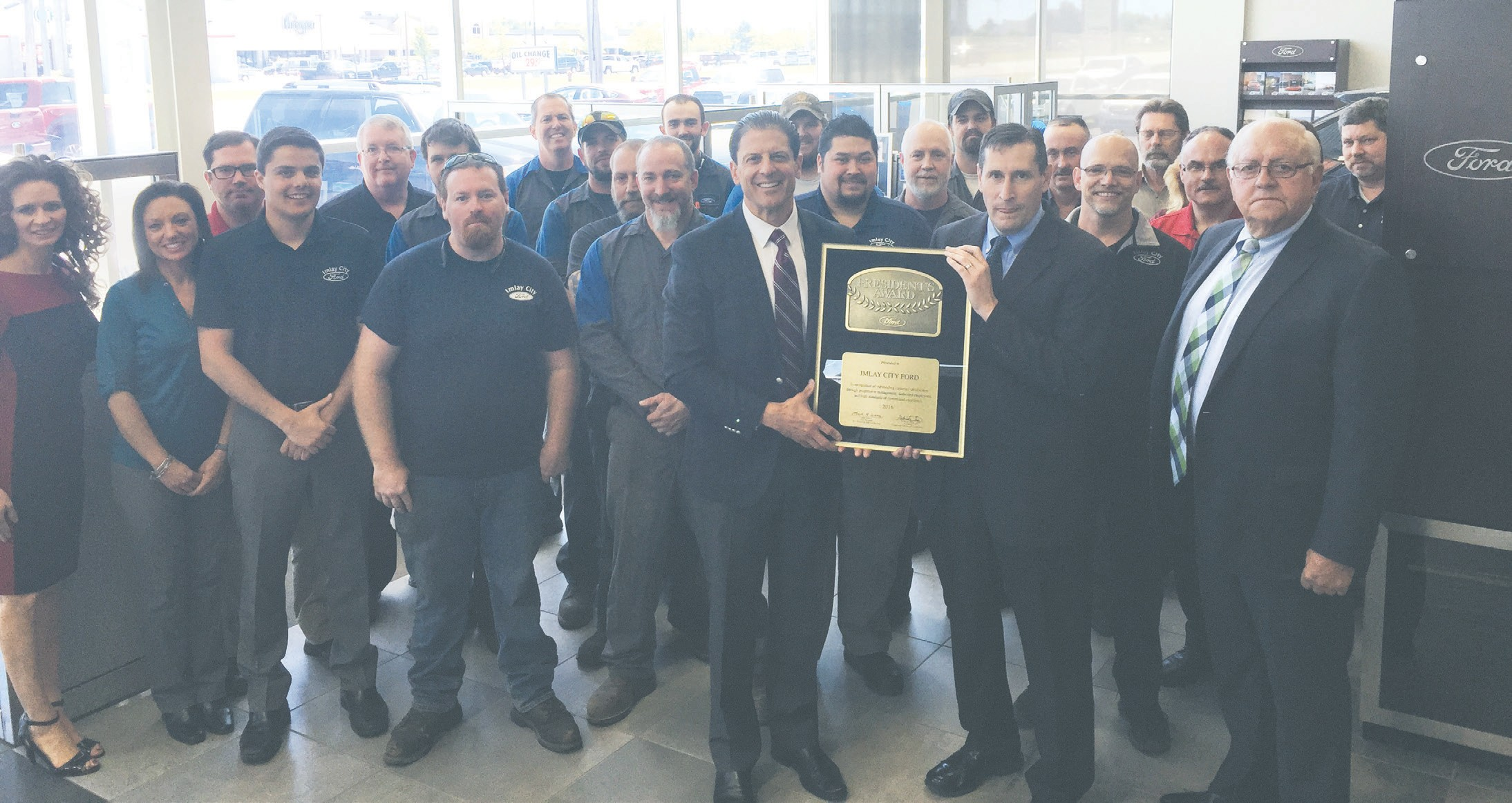 imlay city ford earns president s award for great service the county press the county press mihomepaper